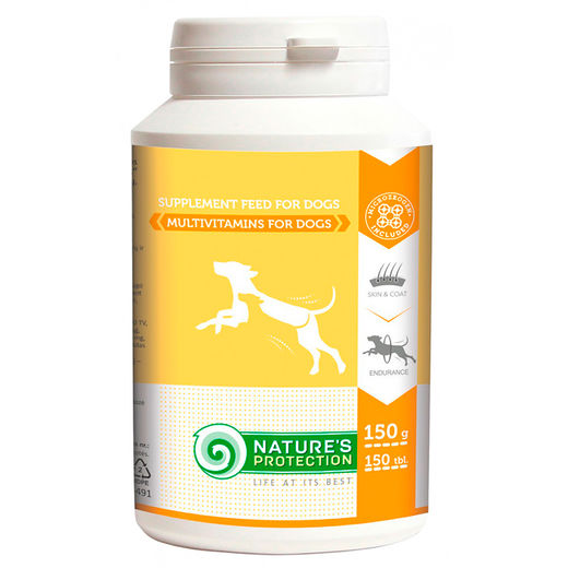 Nature's Protection Multivitamins, 150 tabl.