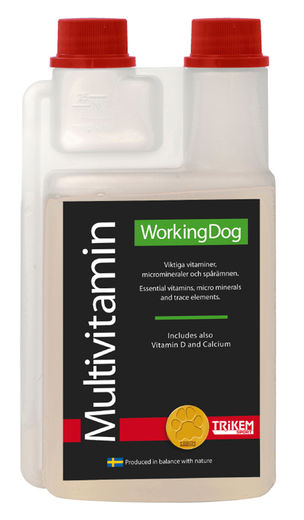 Trikem WorkingDog Multivitamin, 500 ml