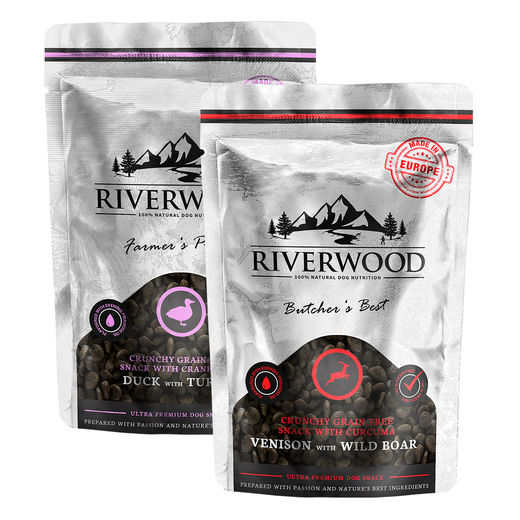 Riverwood Rapeat viljattomat makupalat, 200 g